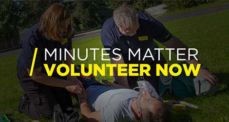 Lives Minutes Matter Volunteer Now