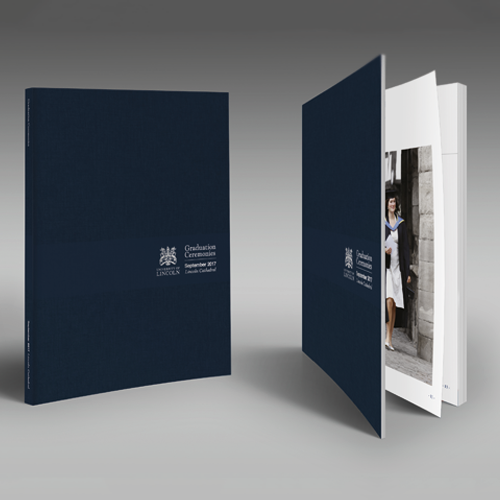 University of Lincoln Case Study Graduation Brochure