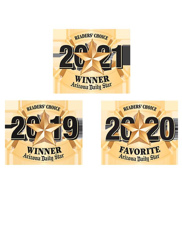 readers choice badges