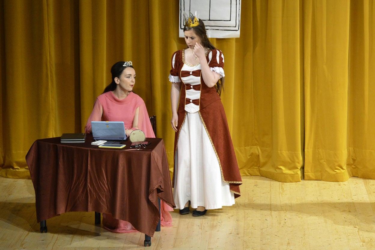 Wi-fintená princezná