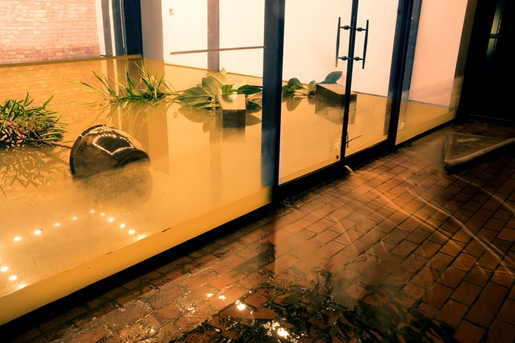 What if a storm causes irreparable water damage to my Florida business