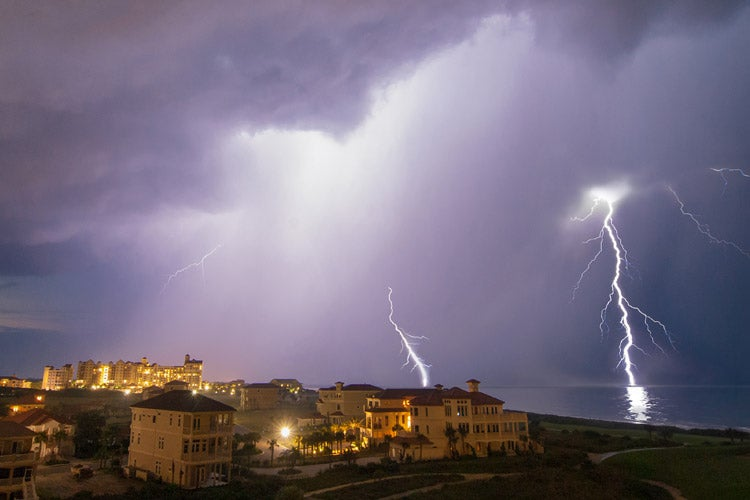 What protects you from lightning - FL