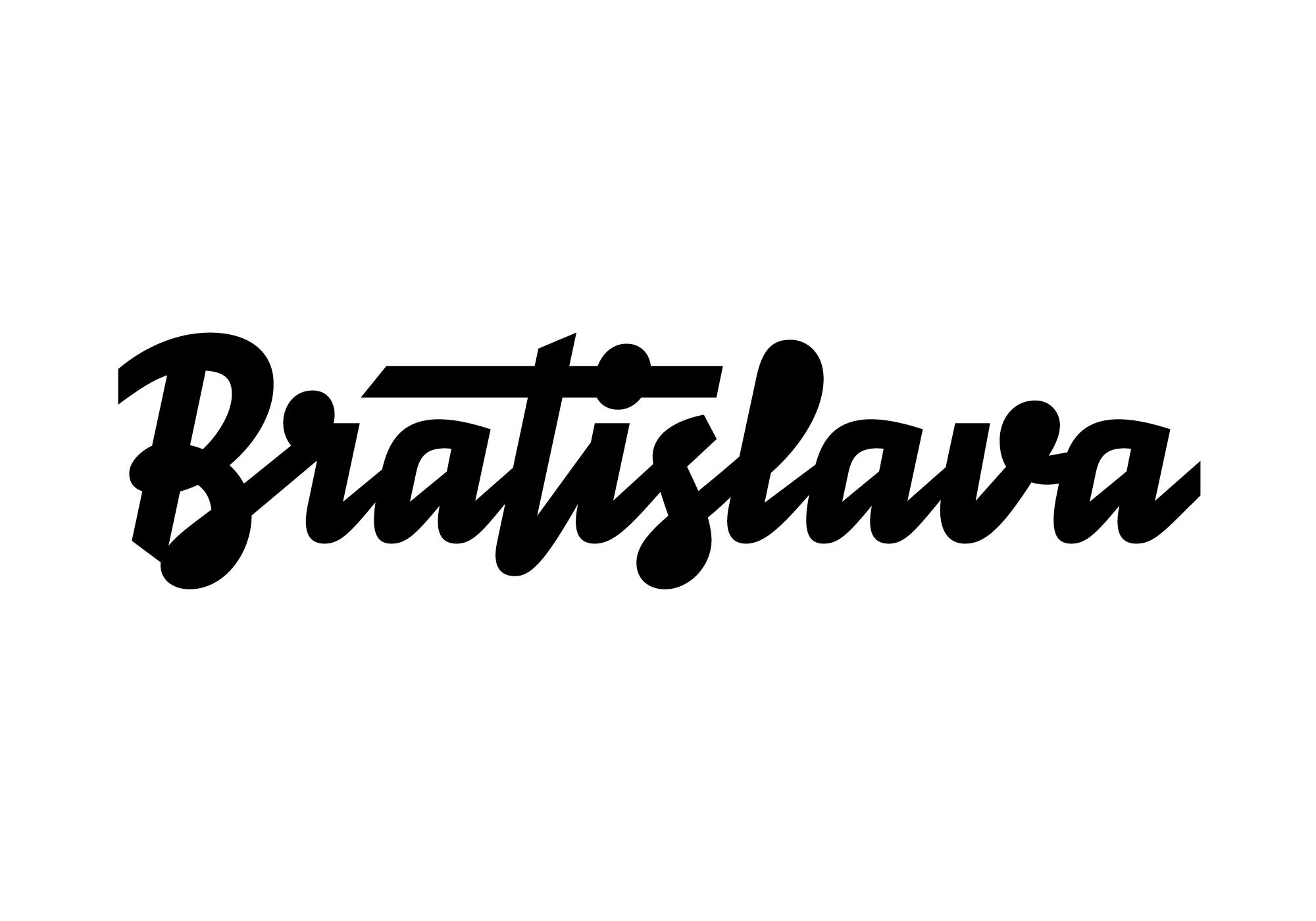 Bratislava Lettering