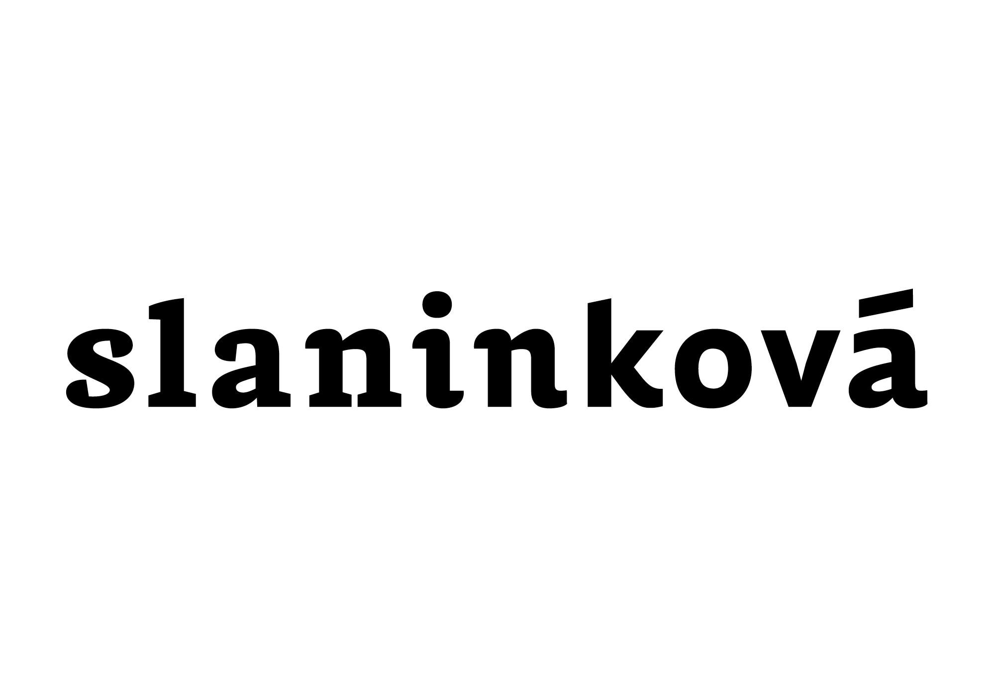 Slaninková Logotype (zapisniky.sk)