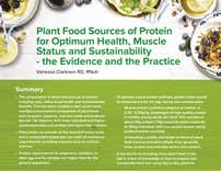 Plant Food Sources of Protein for Health, Muscle status and Sustainability (2017)
