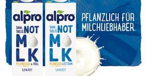 Alpro NOT M*LK - pflanzenbetont noch einfacher mit innovativem Pflanzendrink