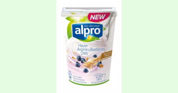 Nieuw! Plantaardig alternatief voor yoghurt Haver-Bosbessen