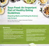 Soya and Adult Health fact sheet