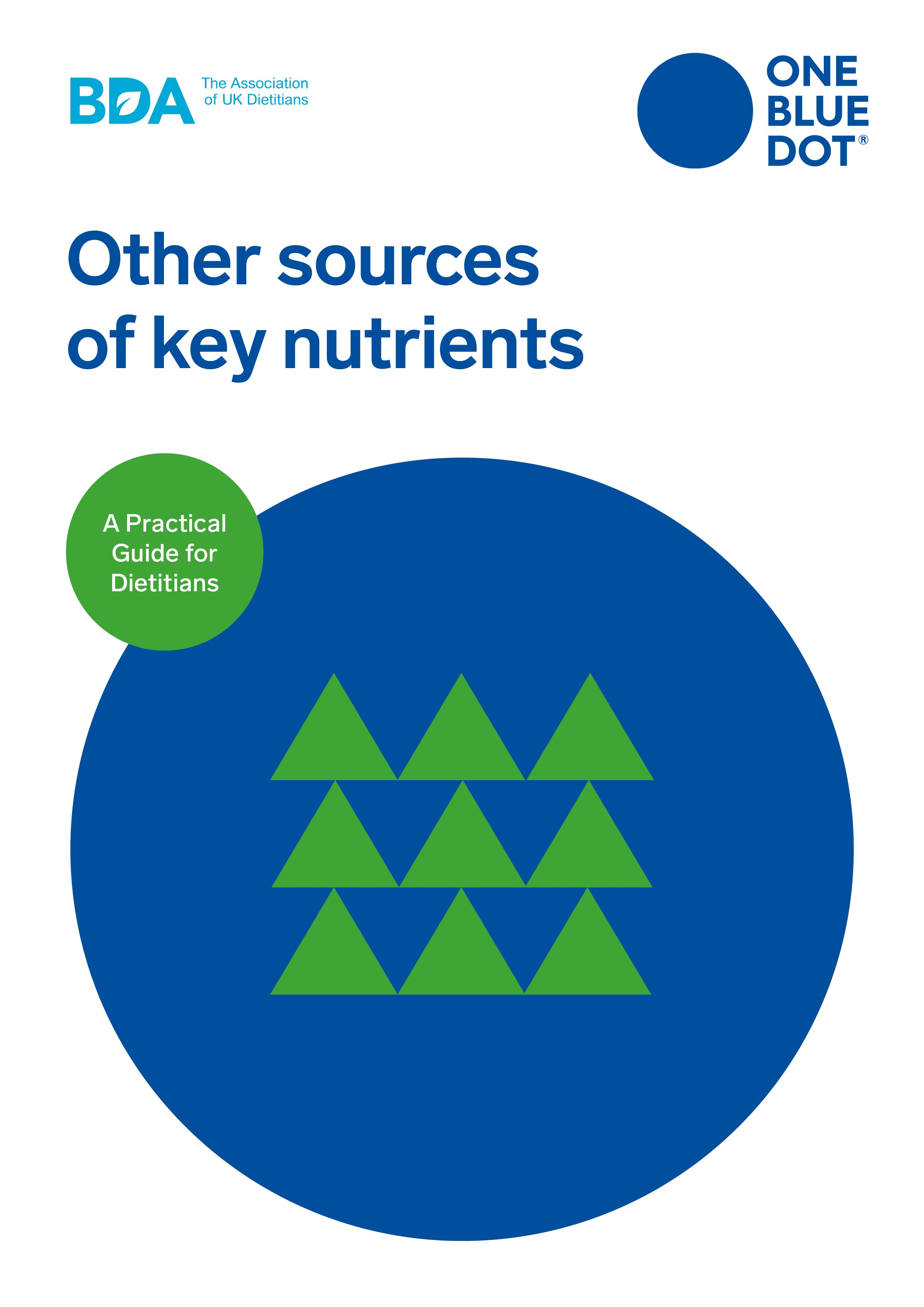 One Blue Dot: Other plant sources of key nutrients