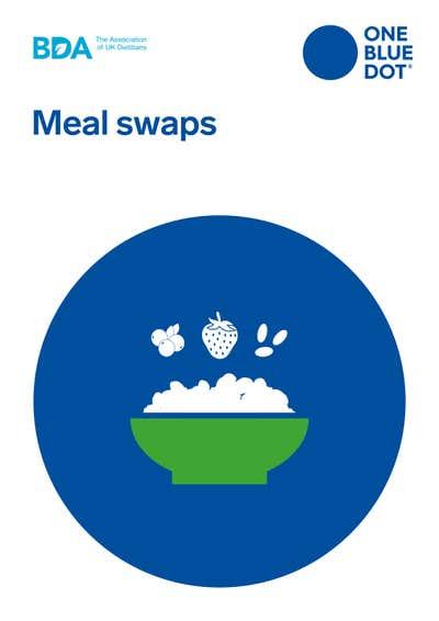 BDA OBD® Meal Swaps