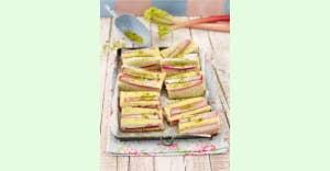 Rezept des Monats: Rhabarberkuchen vom Blech