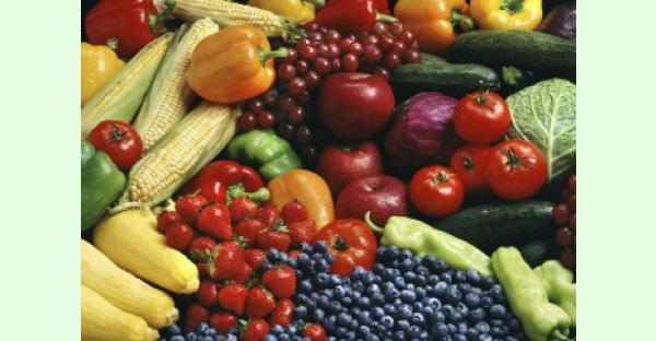 Fruit and vegetable fibre associated with improved mental health