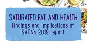Summary & Implications of SACN's 2019 Saturated Fat & Health Report