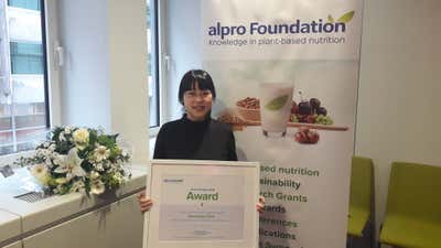 Alpro Foundation Award voor Zhangling Chen