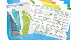Alpro lanceert het Gezonde Planetaire Bord op de Dag van de Aarde - Nieuwe (recepten)brochures beschikbaar.