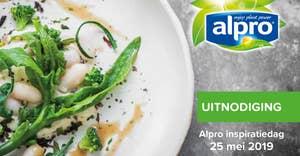 Uitnodiging  Alpro inspiratiedag 25 mei
