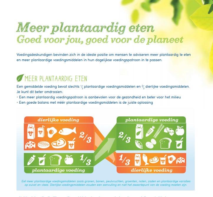 Factsheet plantaardig eten - goed voor jou