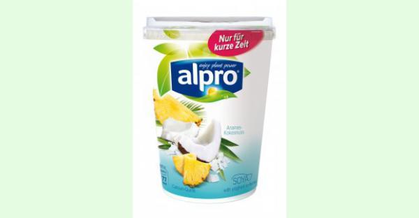 Alpro's Limited Edition steht ab sofort im Kühlregal