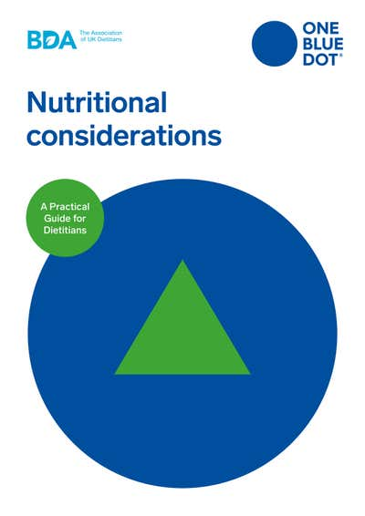 BDA OBD® Nutritional Considerations