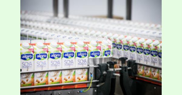Alpro crée le changement dans le réfrigérateur et contribue à l'Alimentation Equilibrée