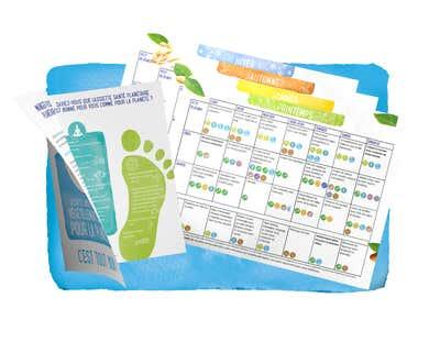Alpro présente l'Assiette Santé Planétaire- Nouvelles brochures (recettes) disponibles.
