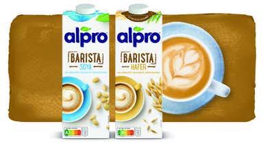 Pflanzlicher Kaffeegenuss – mit den Alpro Barista Drinks
