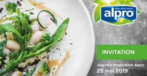 Invitation Alpro Inspiration Day 25 mai