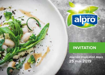 Invitation Alpro Inspiration Day 25 mai