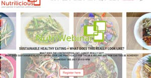 Webinar am 3. Juli 2019: SUSTAINABLE HEALTHY EATING – WHAT DOES THIS REALLY LOOK LIKE?