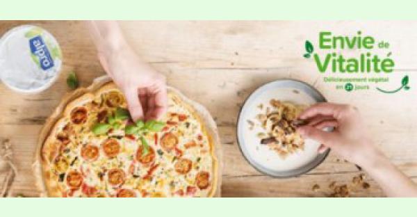 Avec la campagne « Envie de Vitalité » Alpro souhaite aider la population à adopter une alimentation plus végétale pendant 21 jours.