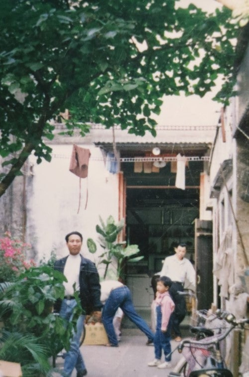 William Lee's ancestral home in Shekki in the 1980s