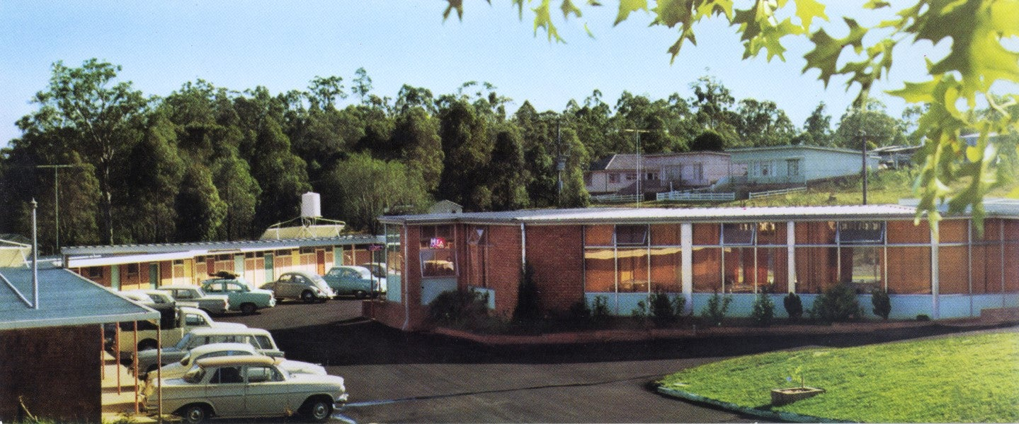 Stanley Hunt's motel in Liverpool (1964)