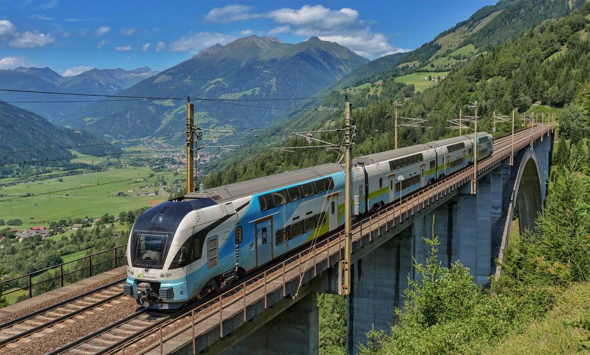 Kontynuuj podróż pociągiem WESTbahn