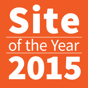 Site of the year logo 2015