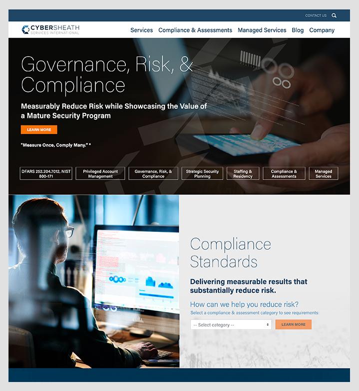 CyberSheath home page
