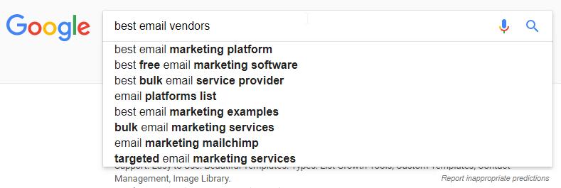 google search box example