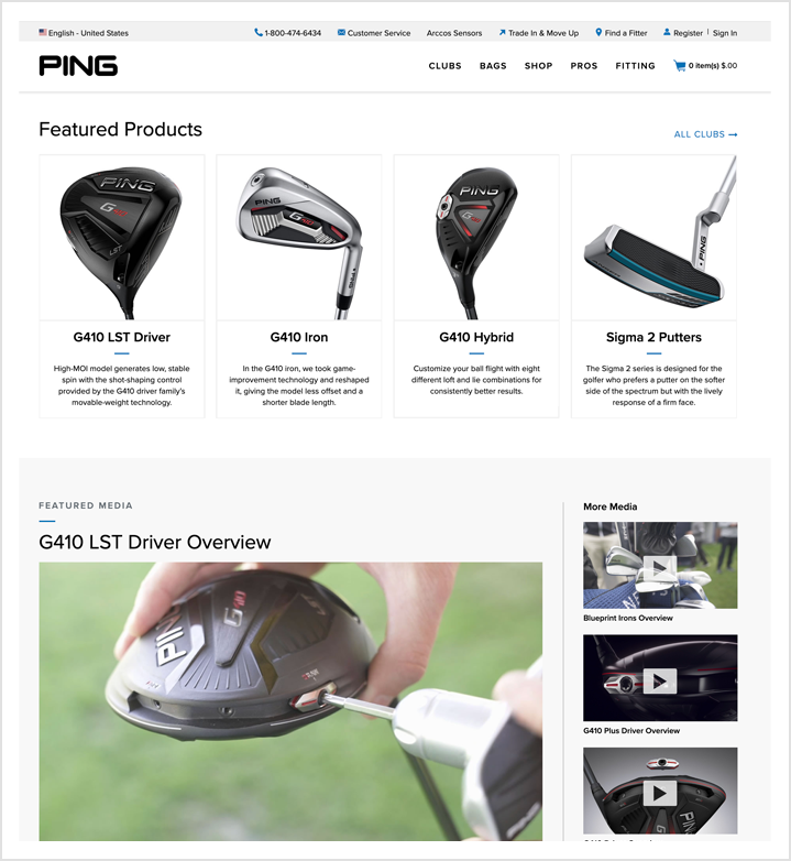 PING home page