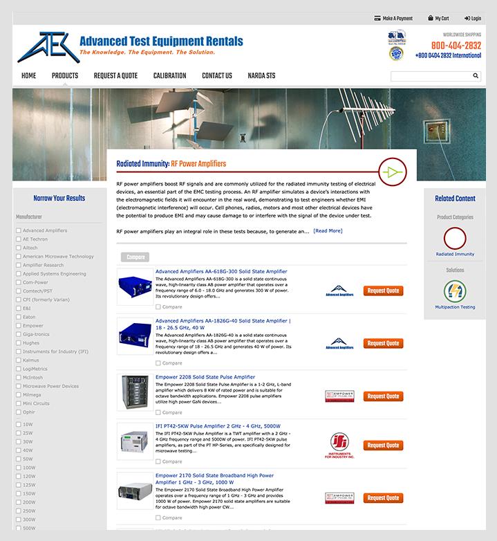 ATECorp interior page