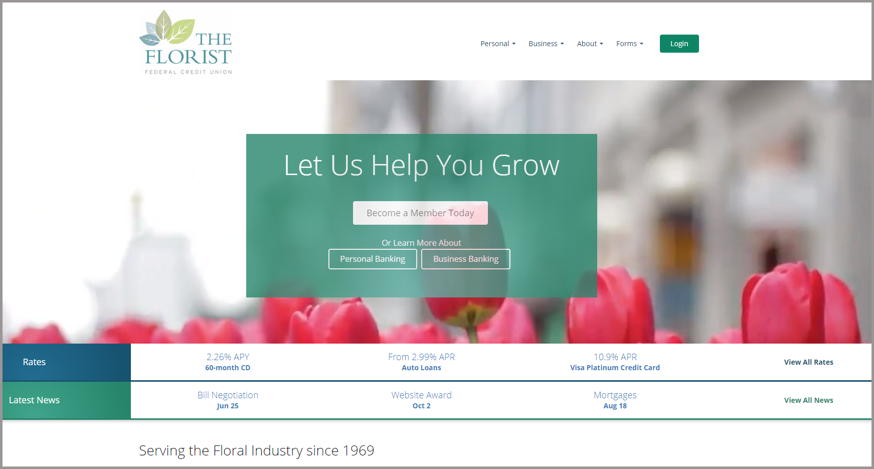 Florist Federal Home Page