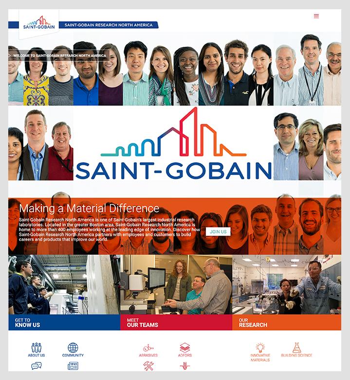 saint gobain research home