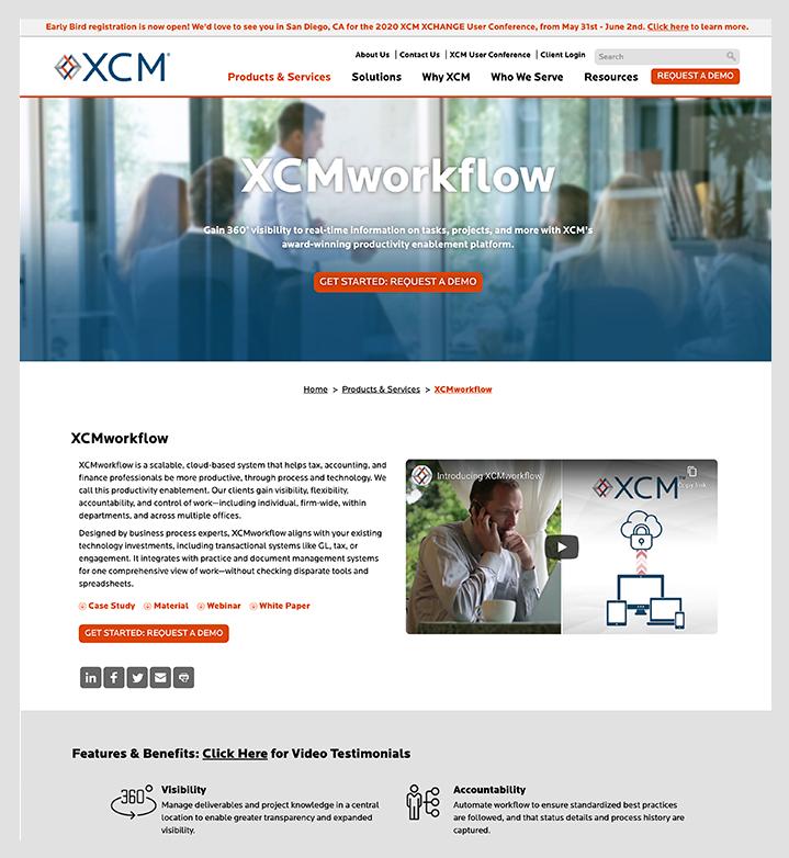 xcm interior page