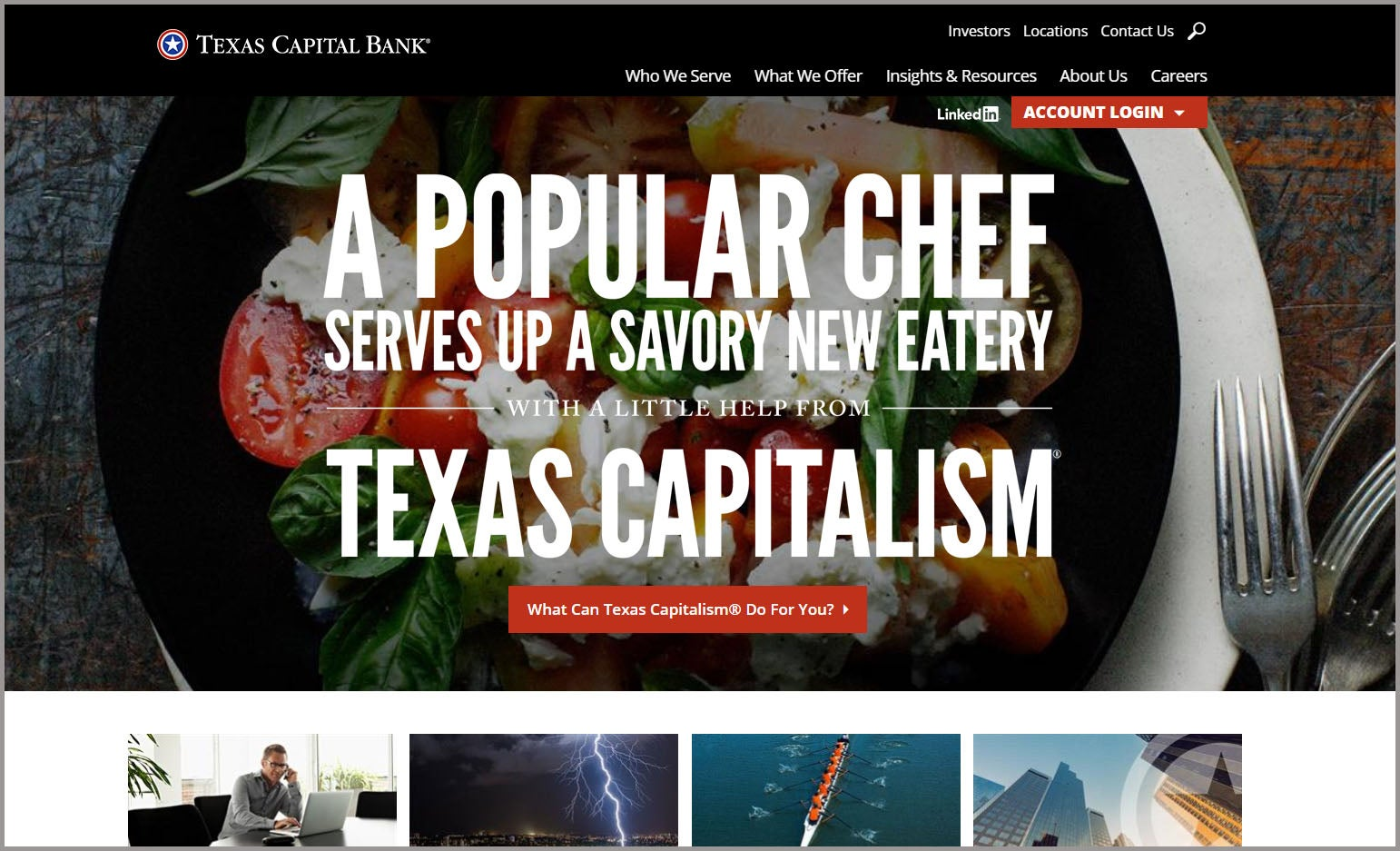 Texas Capital Home Page