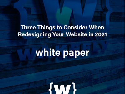 3 Things Redesign White Paper 2021