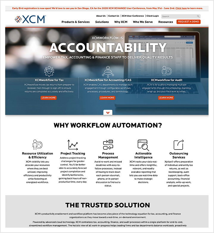 xcm home page