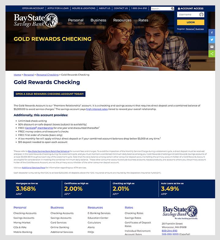 bay state savings bank interior page
