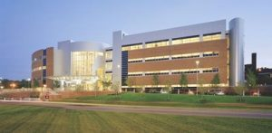 Exeter hospital building