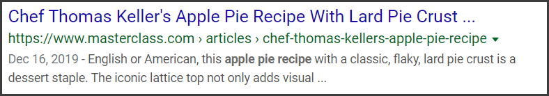 Standard Snippet apple-pie.png