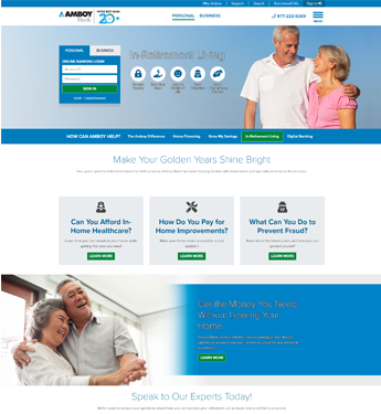 Amboy Bank Home Page