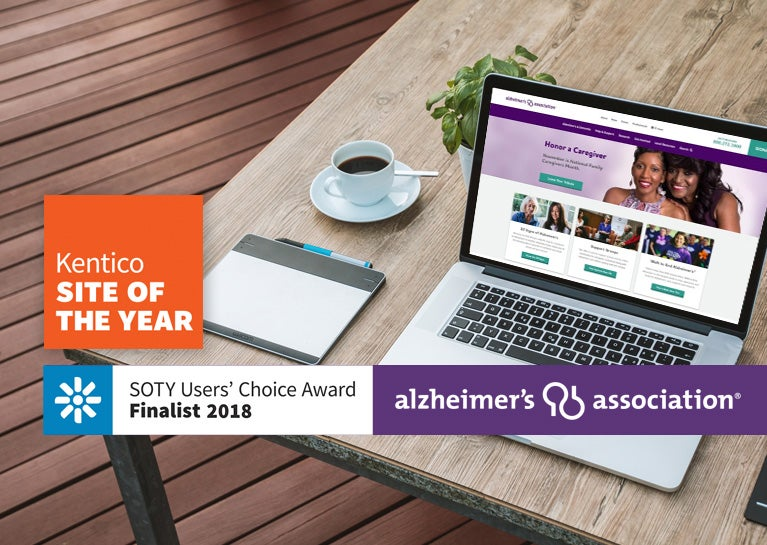 Alzheimer's Association Named Kentico Site of the Year Finalist