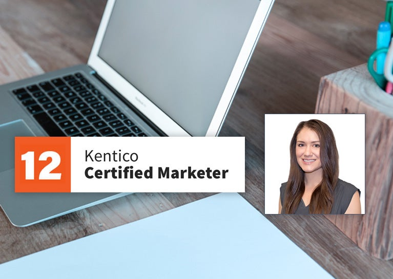 Jennifer Jelsma Adds Kentico Marketer Certification